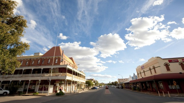 As befitting a gritty outback mining town with its traditional legion of whistles to wet, Argent Street, Broken Hill's ...