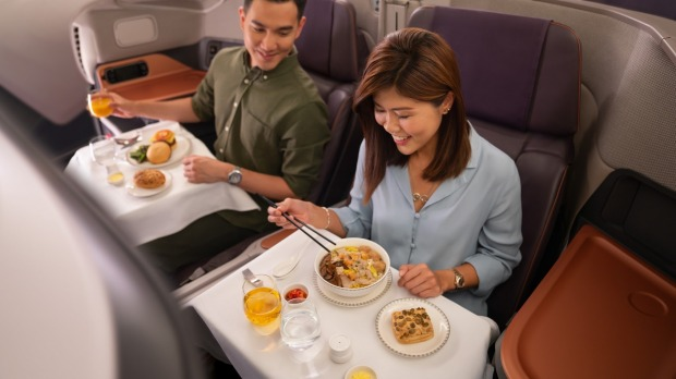 Which airline has turned one of its A380 superjumbos into a restaurant?