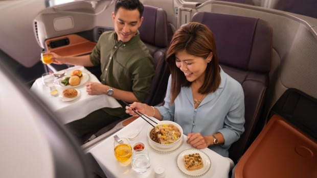 Singapore Airlines' A380 restaurant tickets sold out in 30 minutes.