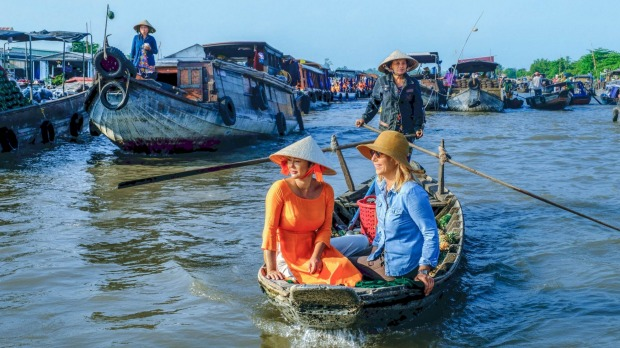 Cruising with Viking on the intriguing Mekong.