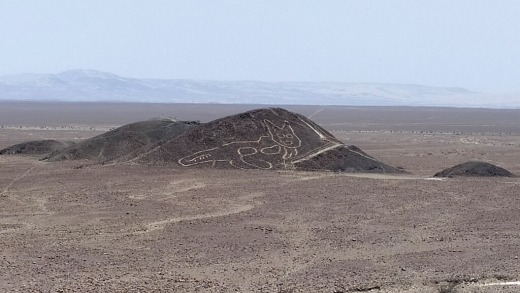 The UNESCO heritage site is home to hundreds of gigantic geoglyphs dating back more than 2,000 years.