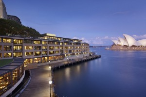 Sydney, at least as the world knows it, is literally right on your glamour-filled doorstep at the Park Hyatt.