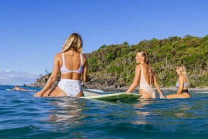 Tea Tree Bay in Noosa National Park is a popular place for picnics and surfing, with are many other spots in the park ...