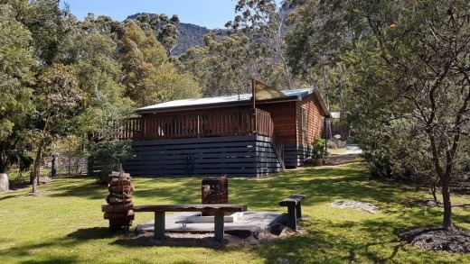 Stayz's top property: Algona Views, Halls Gap, Victoria.