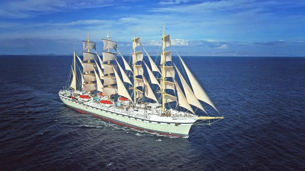 Golden Horizon - the World's largest square-rigger to cruise from Australia in 2021-22.