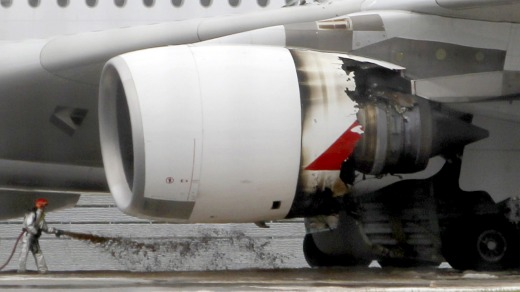 Qantas flight QF32 suffered an catastrophic engine failure after departing from Singapore in 2010. It is one of the ...