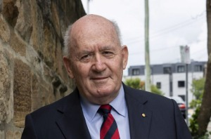 Former Governor-General of Australia General Sir Peter Cosgrove.