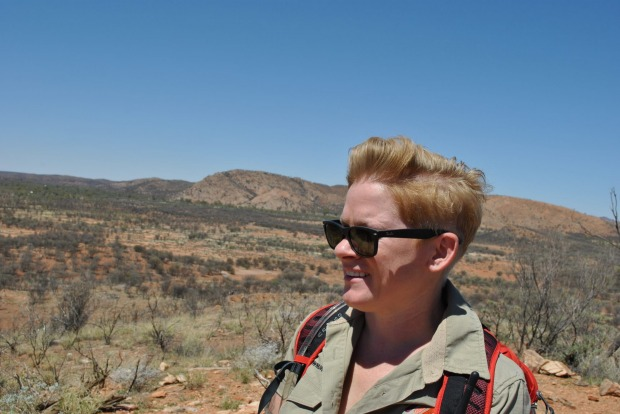 Red Centre tour guide Ceidleigh Bryce.
