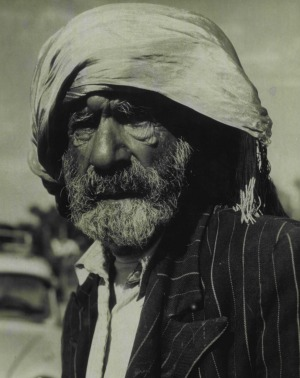 Saidal Mohomet, an Afghan camel driver, who has worked in the Territory for 65 years.