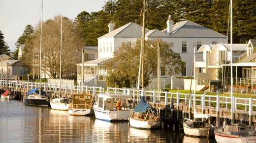Charming: The seaside town of Port Fairy.