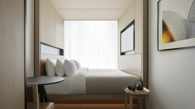 One of the rooms at the new Little National Sydney.