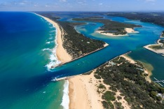 Aerials of Lakes Entrance satmay16gippsland east gippland victoria ; text by Julietta Jameson ; SUPPLIED via journalist ;