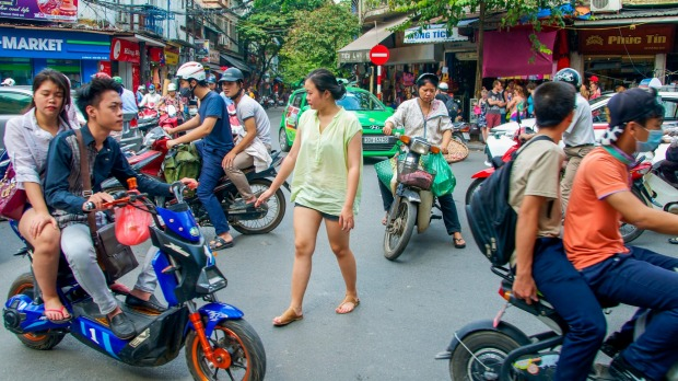 """You just have to go with it"": Travelling Vietnam by scooter is an adventure of all sorts."
