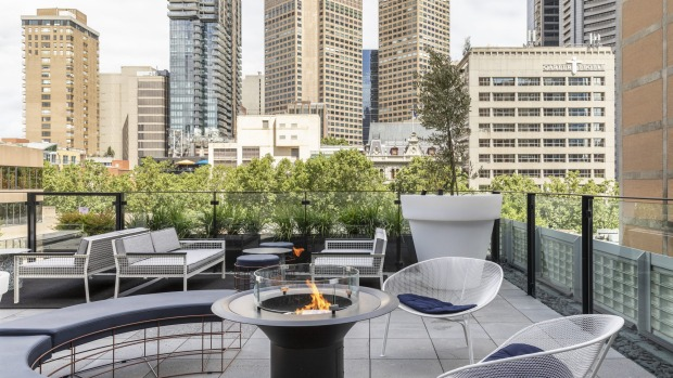 The rooftop at Lancemore Crossley St.