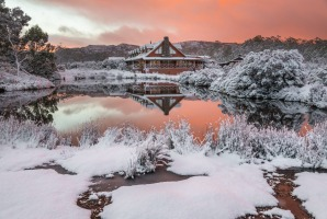 As commodious as the upgraded lodge and its amenities are – it's especially cosy in the colder months.