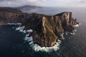 Tasmania's stunning coastlines allows visitors to connect with the natural beauty.