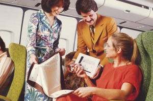 Qantas turns 100. Traveller story. Qantas supplied images from 1970s for use ...