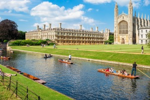 Dreaming about: Cambridge, England.