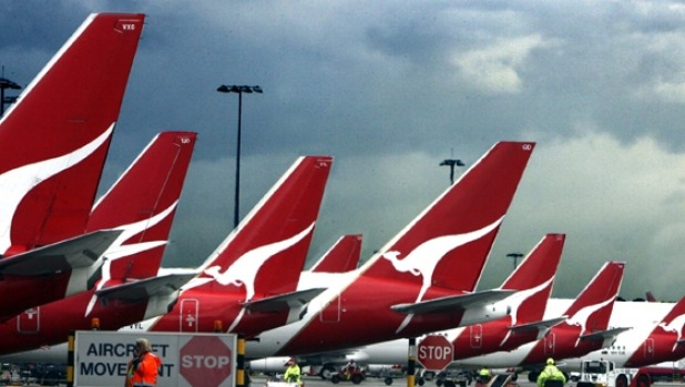 COVID-19 has grounded much of Qantas' fleet, undermining the centenary celebrations.