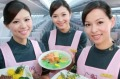 The EVA Air flight attendants will double as 'love cupids'.