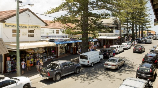 Downtown Byron on a quiet day.