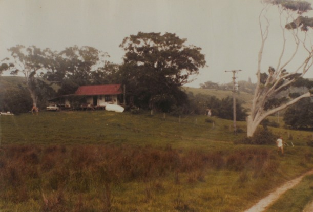 The old farm on Old Bangalow Rd - $5 a week rent.