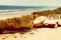 My Uncle Ray surfing at Seven Mile Beach - where Hemsworth live…Circa 1979.
