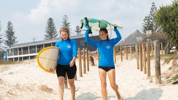 Surf camp in Byron Bay with Luxury Escapes.