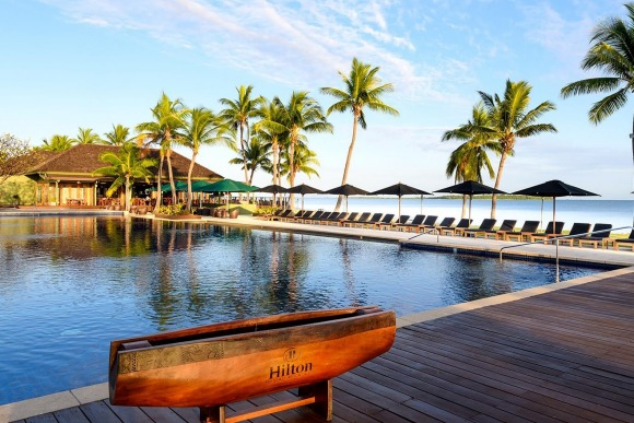 The Hilton Fiji Beach Resort with Luxury Escapes.