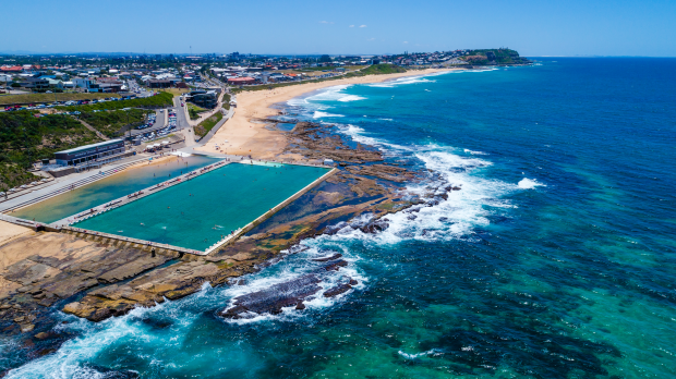 Merewether Baths, Newcastle.