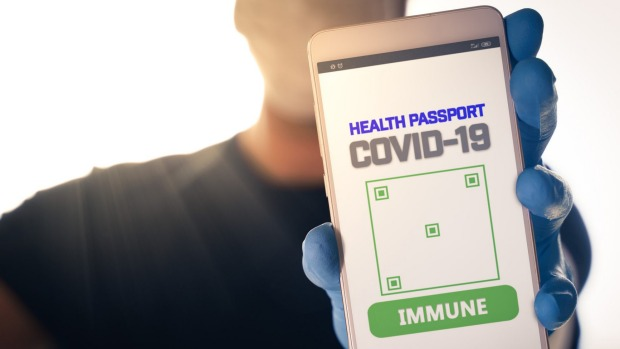 A digital health pass verifies a traveller's health status via a smartphone app. It includes evidence of any recent test ...