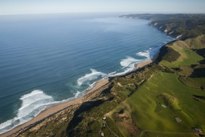 The Great Ocean Road - Shipwreck coast Johanna Beach, aerial Photo: Robert Blackburn Image supplied for Traveller by ...
