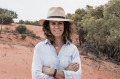 SatDec5CoverNSW Zanna Gale, co-owner of Pincally Station, near Milparinka, NSW, on a sand-dune on the property. Photos: ...