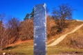 The new monolith has been found on a hill the Romanians regard as holy, near a historically significant site.