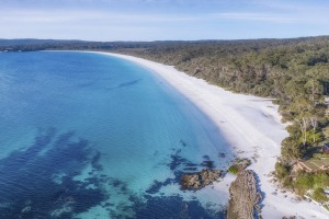 Hyams Beach in Jervis Bay is one of the state's coastal highlights.