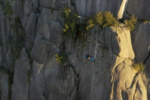 Beyond the Edge is Australia's first and the world's highest commercial portaledge cliff camping experience
