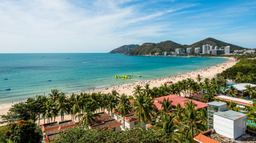 """Known at home as the """"Hawaii of China"""", has been free of coronavirus for six months."""