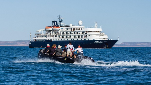 Cruising the Coral Coast from Geraldton to Broome with APT.