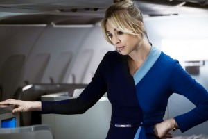 Kaley Cuoco in The Flight Attendant