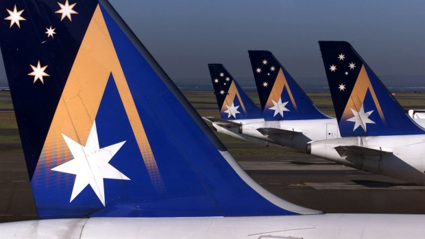 In what year did Ansett stop flying?