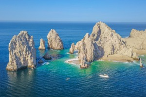 Cabo's spectacular coastline has long attracted US tourists.
