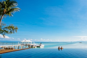 Luxury private island accommodation: Orpheus Island resort, Queensland.