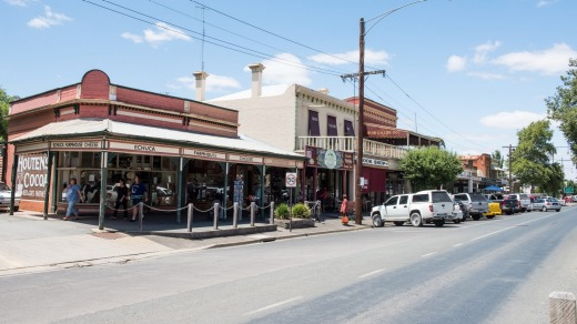Rivertown: Echuca was founded in 1854.