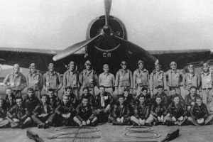 """Photograph of Torpedo Bomber #28, the lead plane of Flight 19, known as """"Lost Squadron"""", which vanished on December 5, ..."""