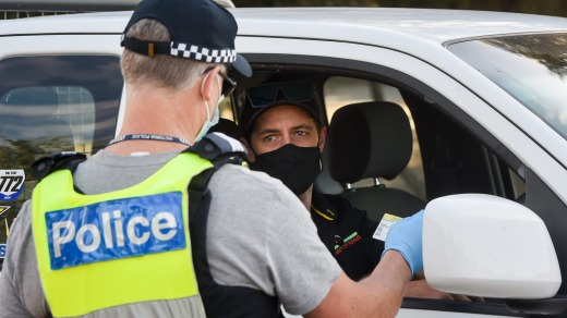 Travelling interstate has become fraught with the threat that borders could snap shut at any time.