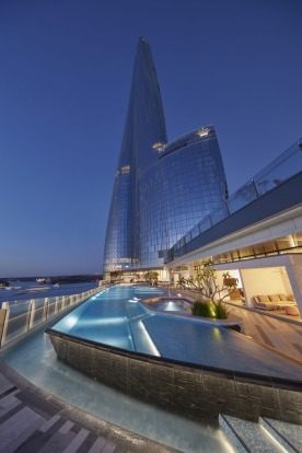 Crown Towers' pool. The hotel opened on December 28 but Crown Sydney's casino remains closed pending approval of its ...
