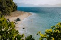 Nudey Beach,  Fitzroy Island. Walking into the water from the beach Supplied PR image for Traveller.Hidden beaches ...