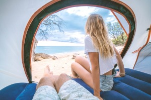 With international borders closed, camping holidays in Australia are booming.