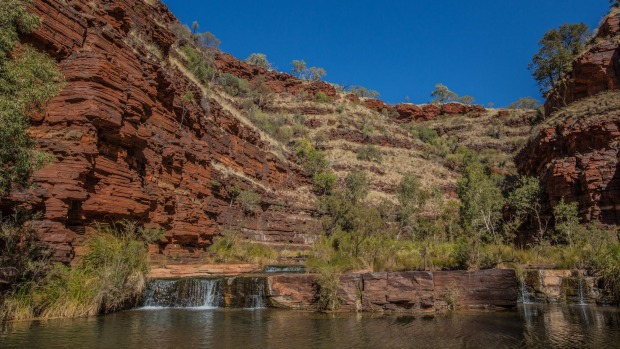 Dales Gorge, Karijini National Park tra15-sixbest-Pilbara Image supplied by Tourism Western Australia for Traveller Pls ...