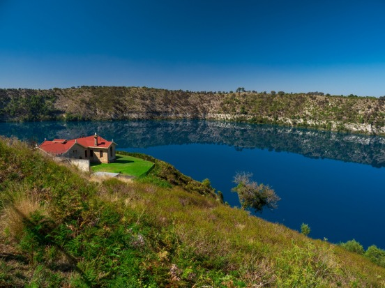 The Blue Lake, Mount Gambier.